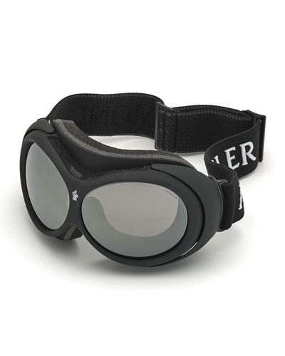 Men's Smoke-Lens Ski Goggles