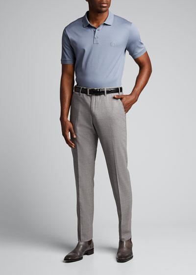 Men's Micro-Pique Polo Shirt