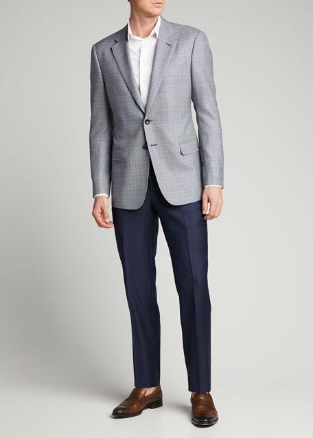 Men's Neat Wool Sport Jacket