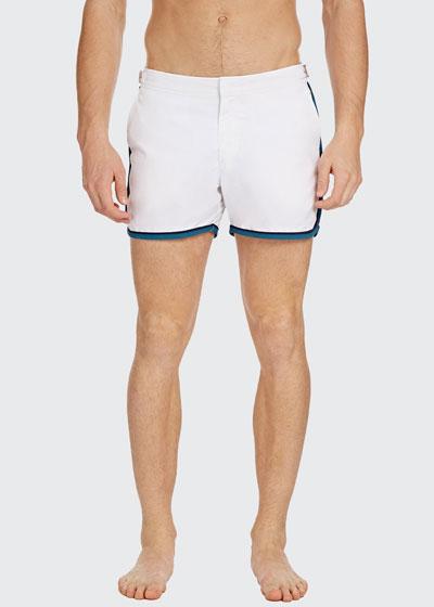 Men's Setter Binding Side-Stripe Swim Shorts