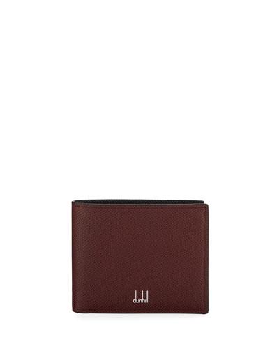 Men's Cadogan Two-Tone Leather Billfold Wallet