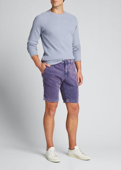 Men's Baby Corduroy Shorts