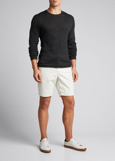 Men's Trent Solid Crewneck Sweater