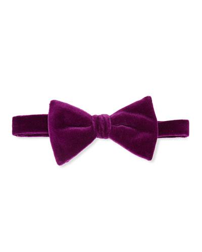 Men's Velvet Bow Tie