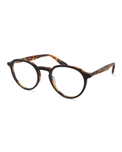 Men's Archie Round Tortoiseshell Optical Frames