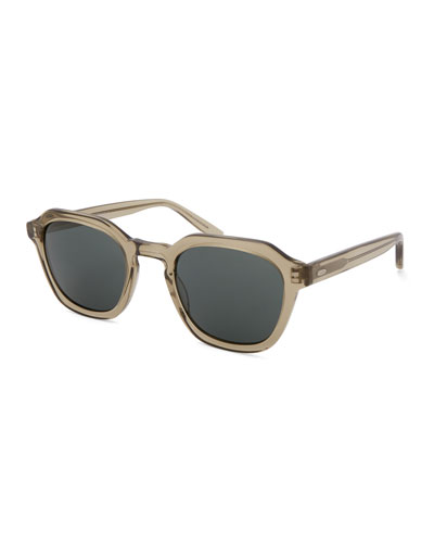 Men's Tucker Vintage Square Acetate Sunglasses
