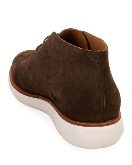 Men's Lightweight Suede Chukka Boots