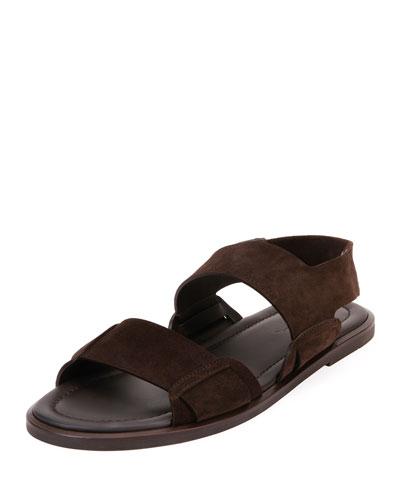 Men's Suede Sandals
