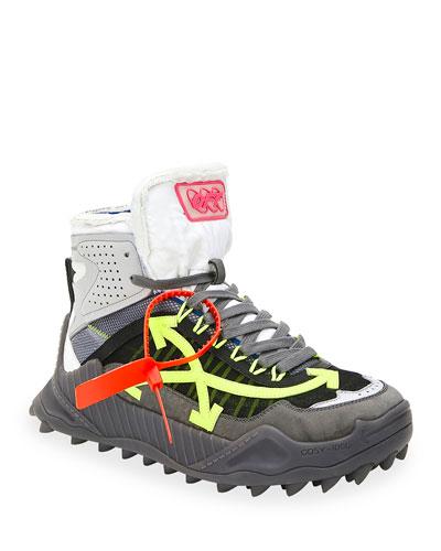 Men's Odsy Arrow High-Top Sneakers