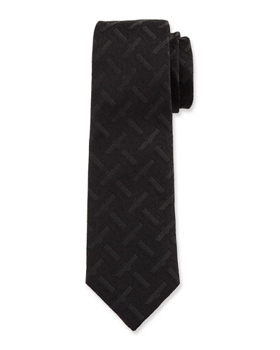 Men's TB Monogram Silk Tie