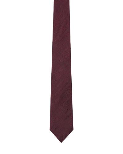 Men's Tonal Check Silk Tie