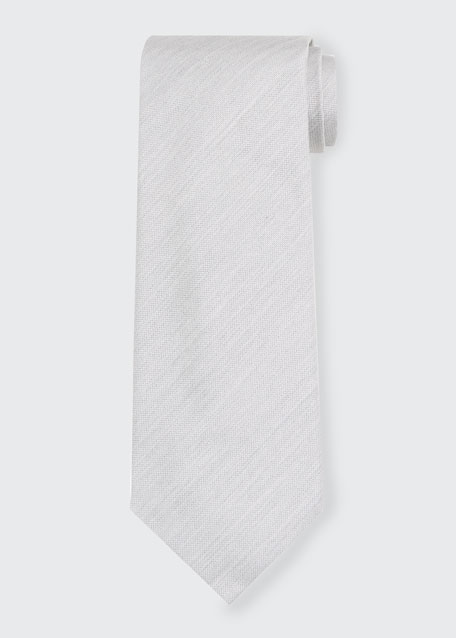 Image 1 of 1: Solid Silk Tie