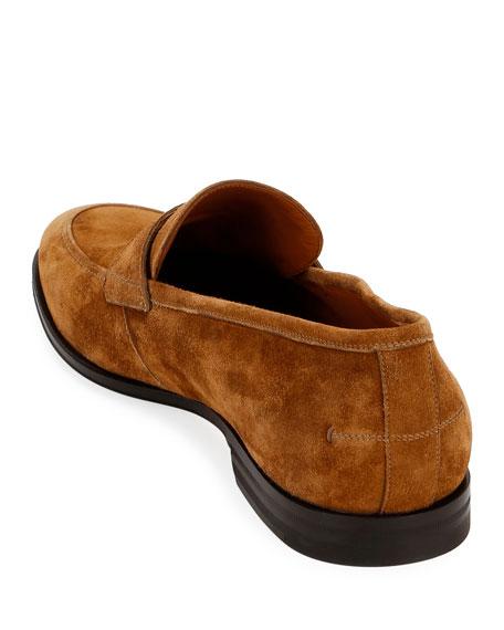 Men's Webb Suede Penny Loafers