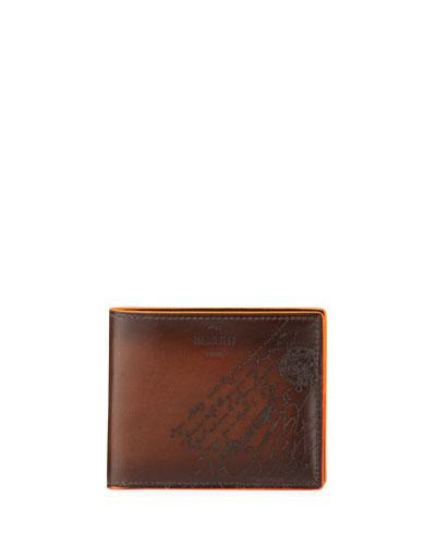 Men's Makore Scritto Leather Wallet