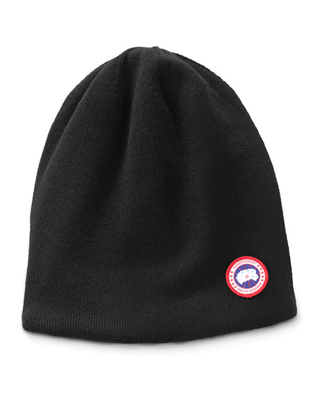 Image 1 of 1: Men's Standard Logo Toque Winter Beanie Hat