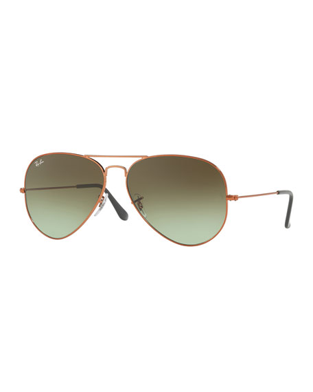 Image 1 of 1: Men's Aviator Large Metal II Sunglasses
