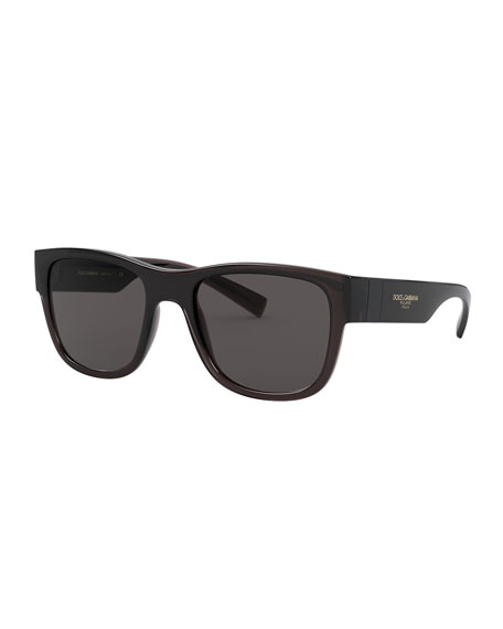 Image 1 of 1: Men's Square Propionate Sunglasses
