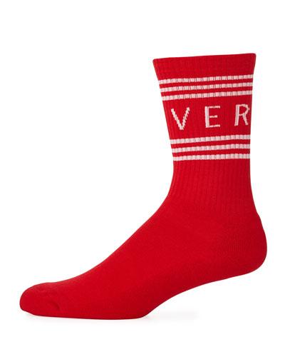 Men's Athletic Band Socks