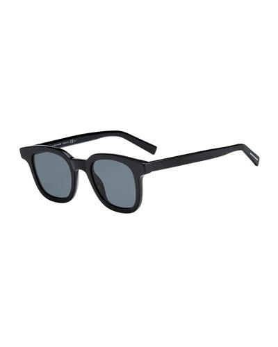 Men's BLACK219S Square Sunglasses