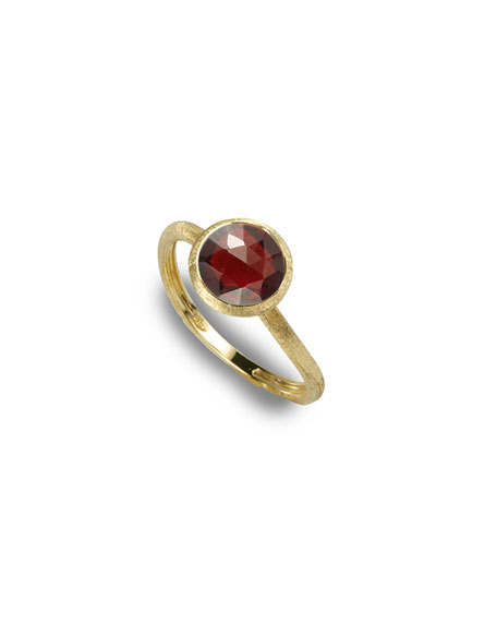 Marco Bicego Jaipur Garnet Stackable Ring