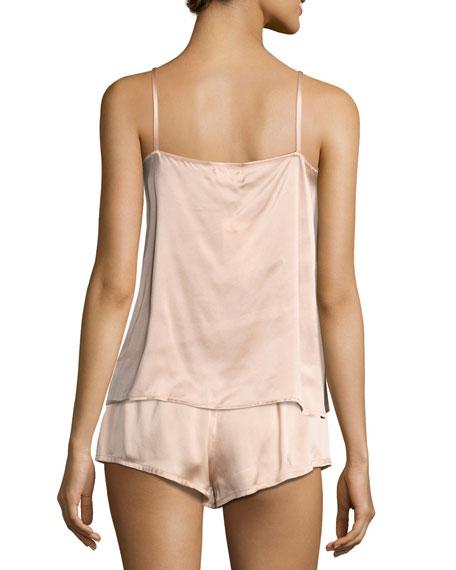 Modern Silk-Satin Camisole, Light Pink