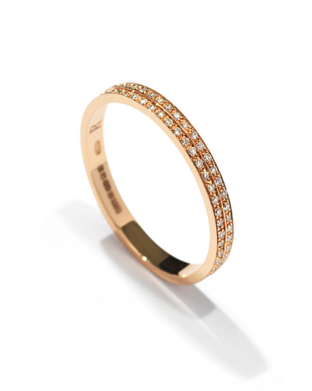 Berbère Diamond Band Ring in 18K Gold