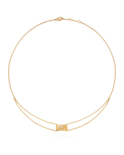 COCO CRUSH PENDANT IN 18K YELLOW GOLD AND DIAMONDS