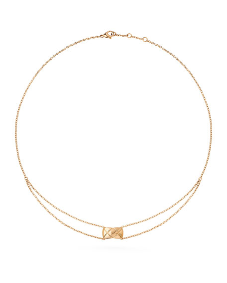 COCO CRUSH PENDANT IN 18K BEIGE GOLD