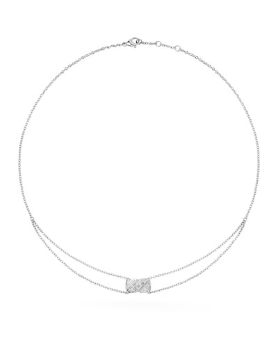 COCO CRUSH PENDANT IN 18K WHITE GOLD AND DIAMONDS