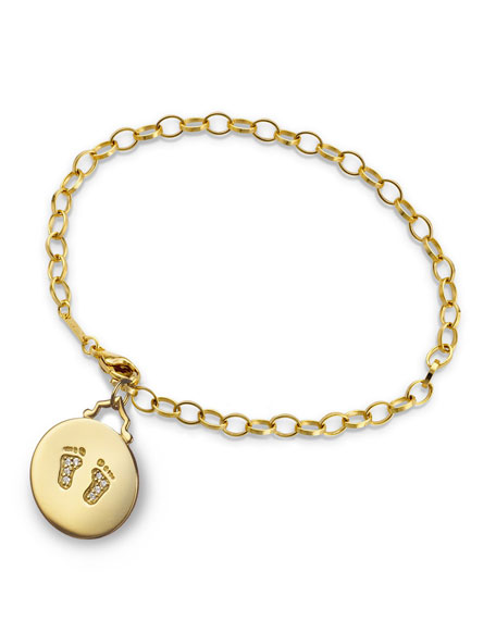 Monica Rich Kosann 18k Yellow Gold Small Baby
