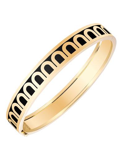 L'Arc de Davidor 18k Gold Bangle - Med. Model, Caviar