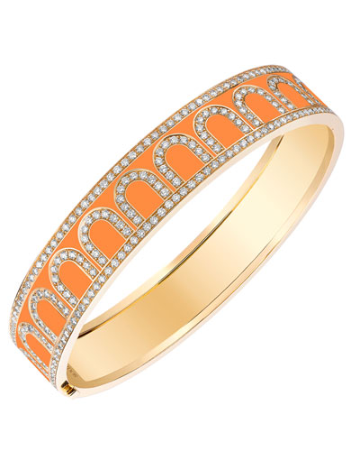 L'Arc de Davidor 18k Gold Diamond Bangle - Grand Model, Zeste