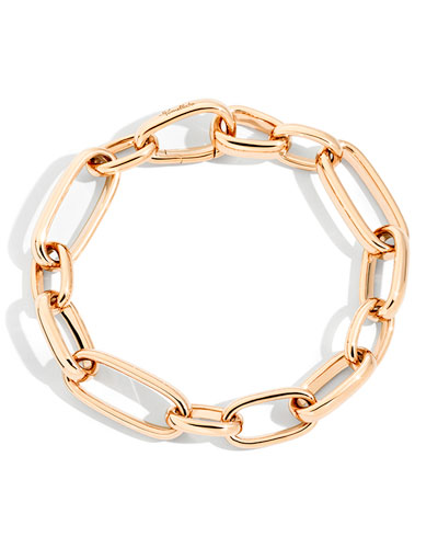 Iconica 18k Rose Gold Extra-Slim Chain Bracelet