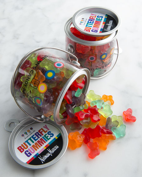 Butterfly Gummies in Paint Can