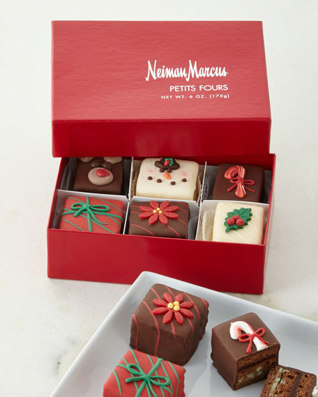 Christmas Petits Fours, Six Count