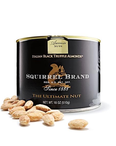 Italian Black-Truffle Almonds