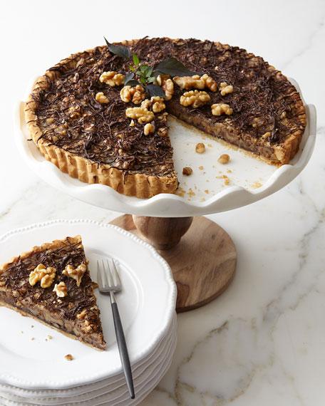 Sweet Lady Jane Chocolate Caramel Walnut Tart