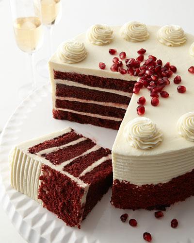 Red Velvet Cake  For 12-20 People