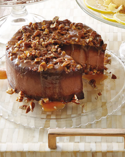 Turtle Silk Gluten-Free Cake  For 12 People