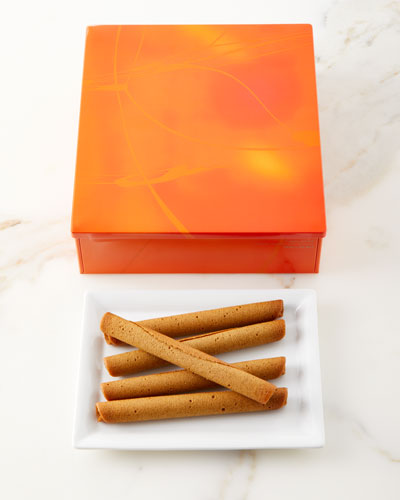 20 Small Cigare au Tea Cookies
