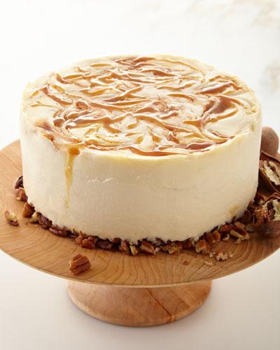 Gluten-Free Caramel Bourbon Street Silk Cake