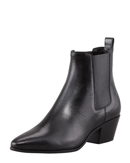 Rock Lizard-Print Chelsea Boot