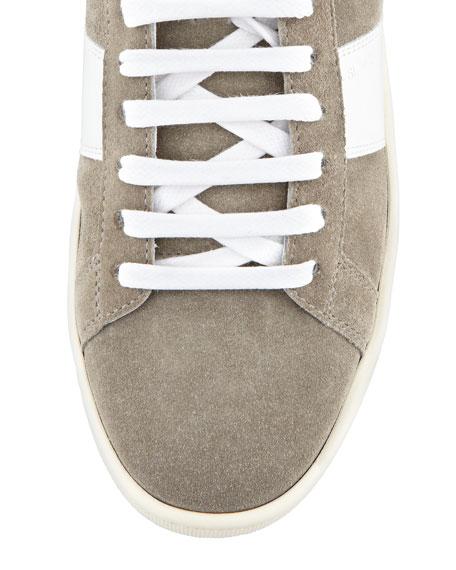 Suede High-Top Sneaker