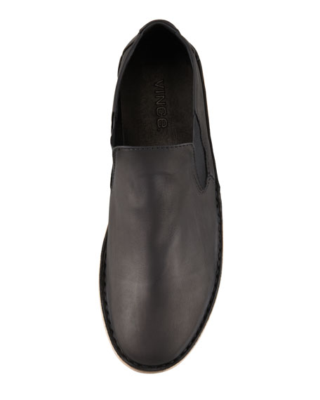 Mia Leather Slip-On