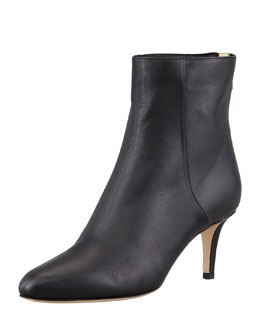Jimmy Choo Brody Leather Ankle Bootie, Black