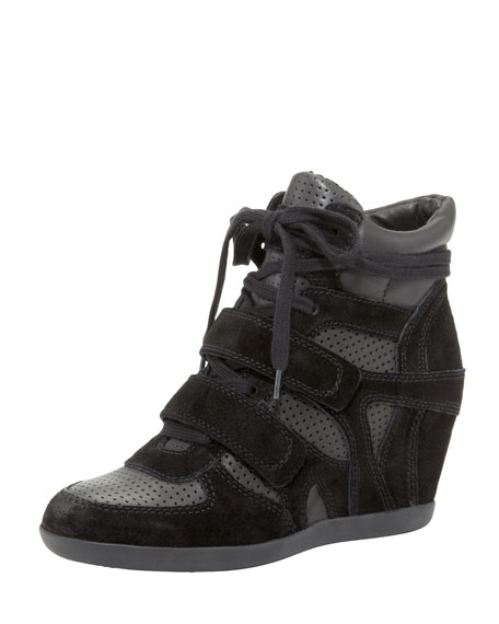 Bea Lace-Up Wedge Sneaker