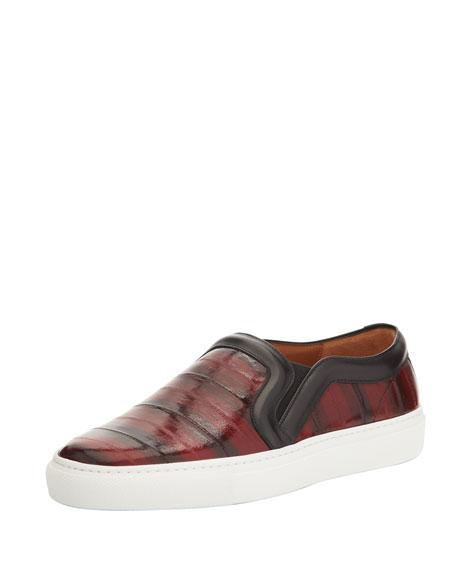 Shiny Eel Slip-On Sneaker
