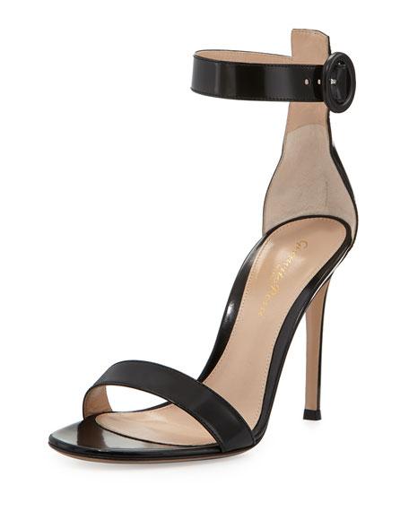 Spazzolato Ankle-Strap Sandal