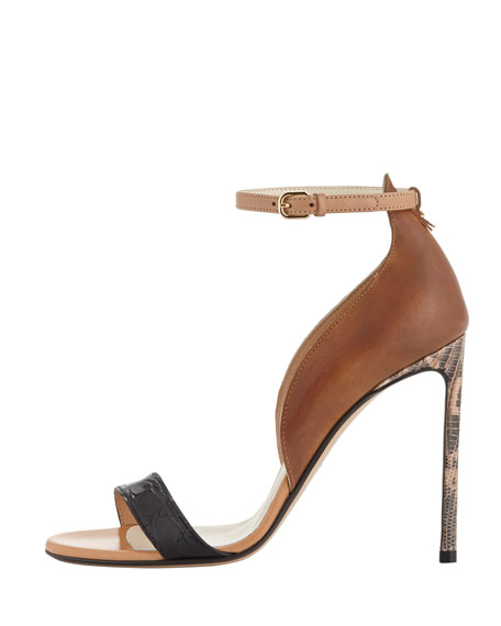 Two-Piece Combo Ankle-Wrap Sandal