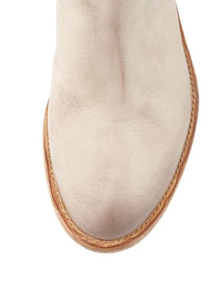 Saltara Back-Strap Combo Ankle Boot, Gray
